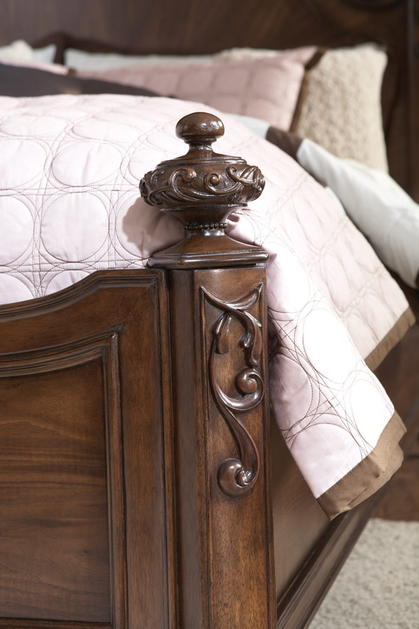 Jessica McClintock Couture Mansion Bed - American Drew