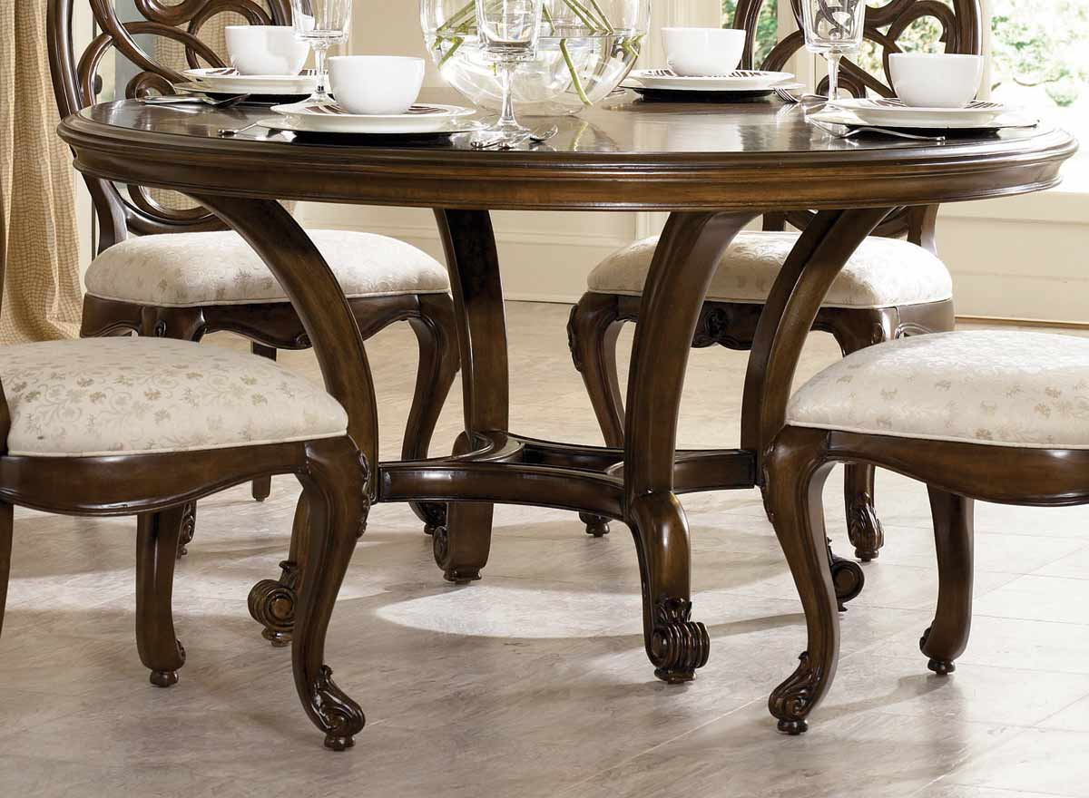 American Drew Jessica McClintock Couture 60in Round Table