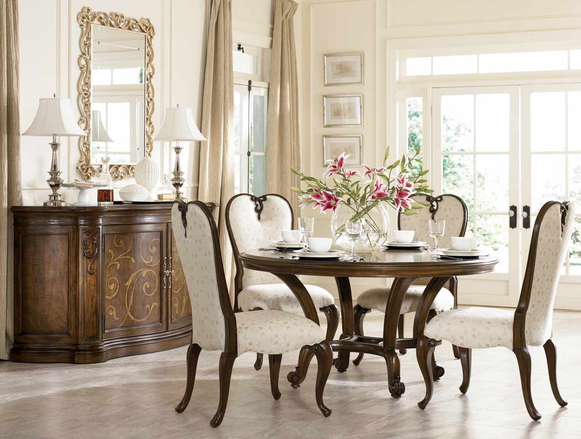 American Drew Jessica McClintock Couture 60in Round Dining Collection