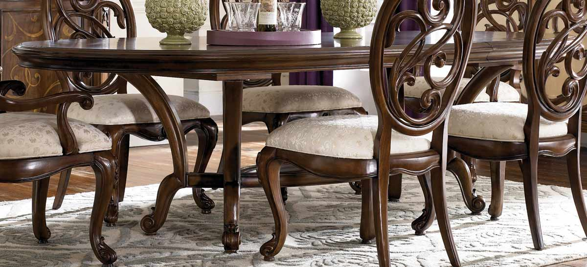 American Drew Jessica McClintock Couture Renaissance Dining Table ...