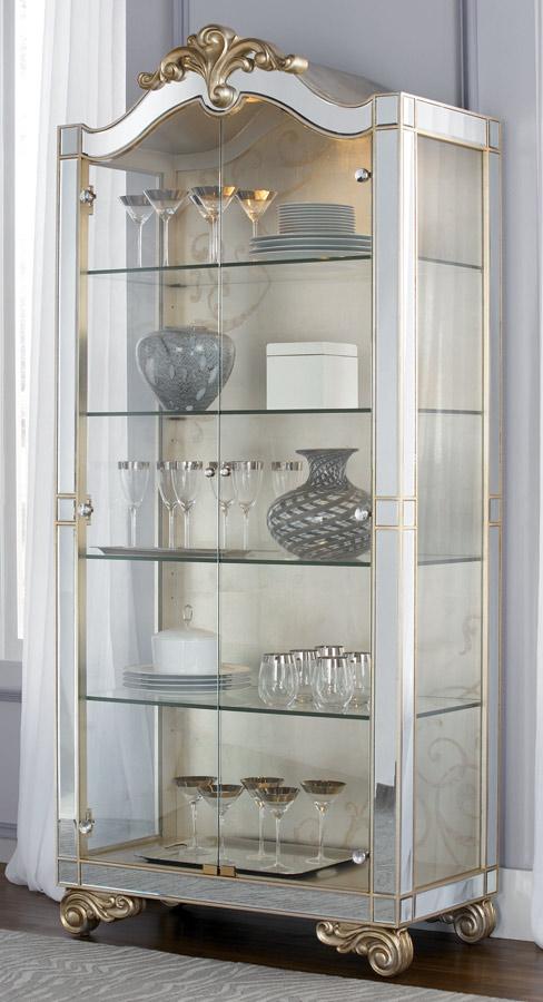 American Drew Jessica McClintock Couture Curio Cabinet