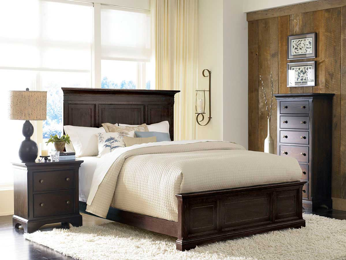 american drew ashby park peppercorn bedroom set b901 322pr