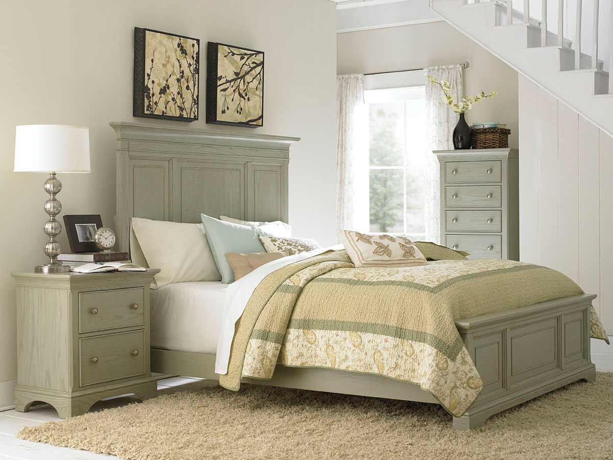 American Drew Ashby Park Sage Bedroom Set