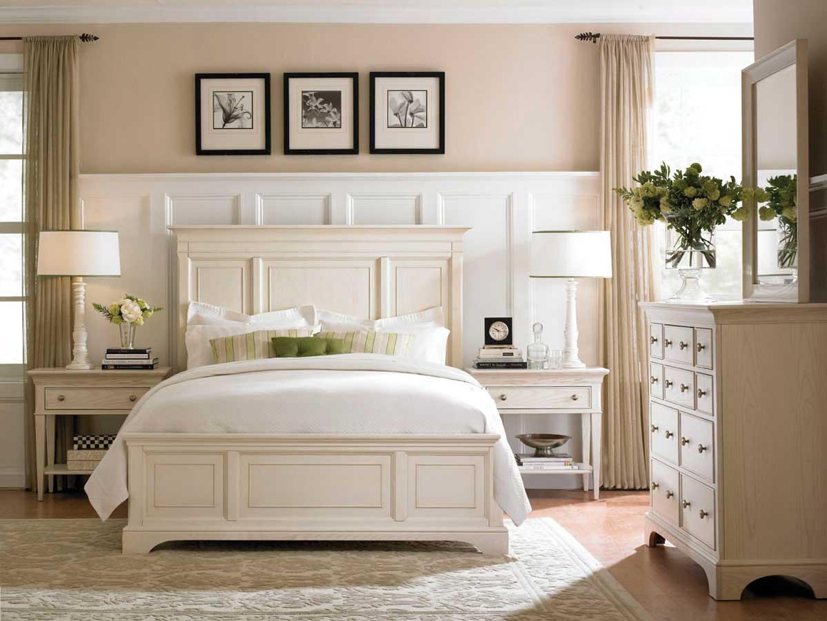 American Drew Ashby Park Sea Salt Bedroom Set