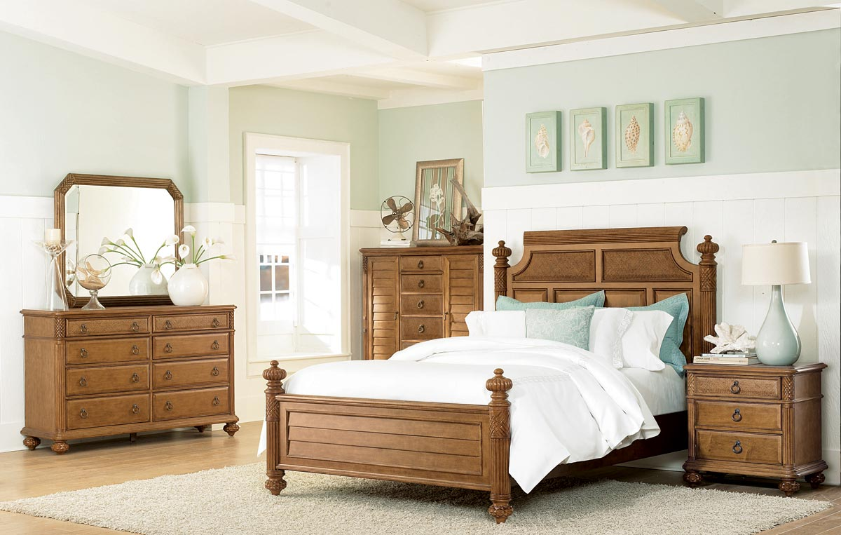 American Drew Grand Isle Island Bed Set