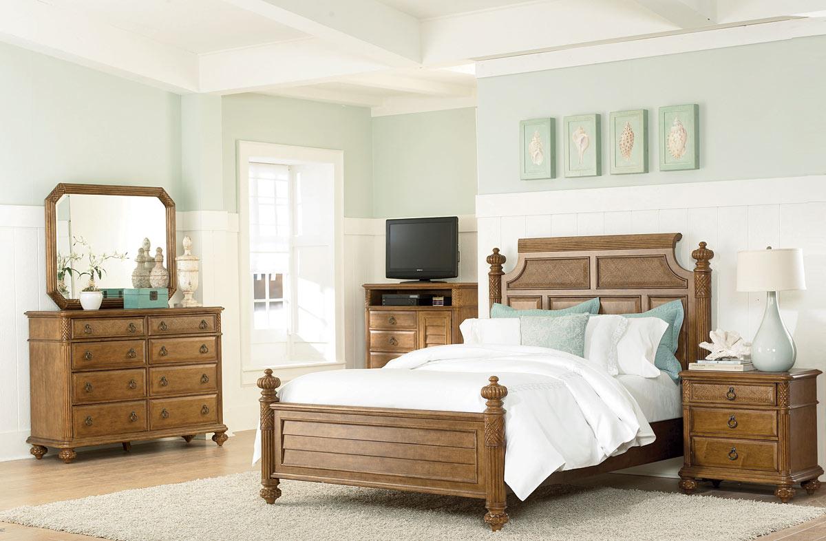 American Drew Grand Isle Island Bed Set