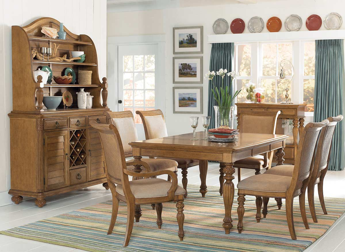 American Drew Grand Isle Rectangular Dining Set
