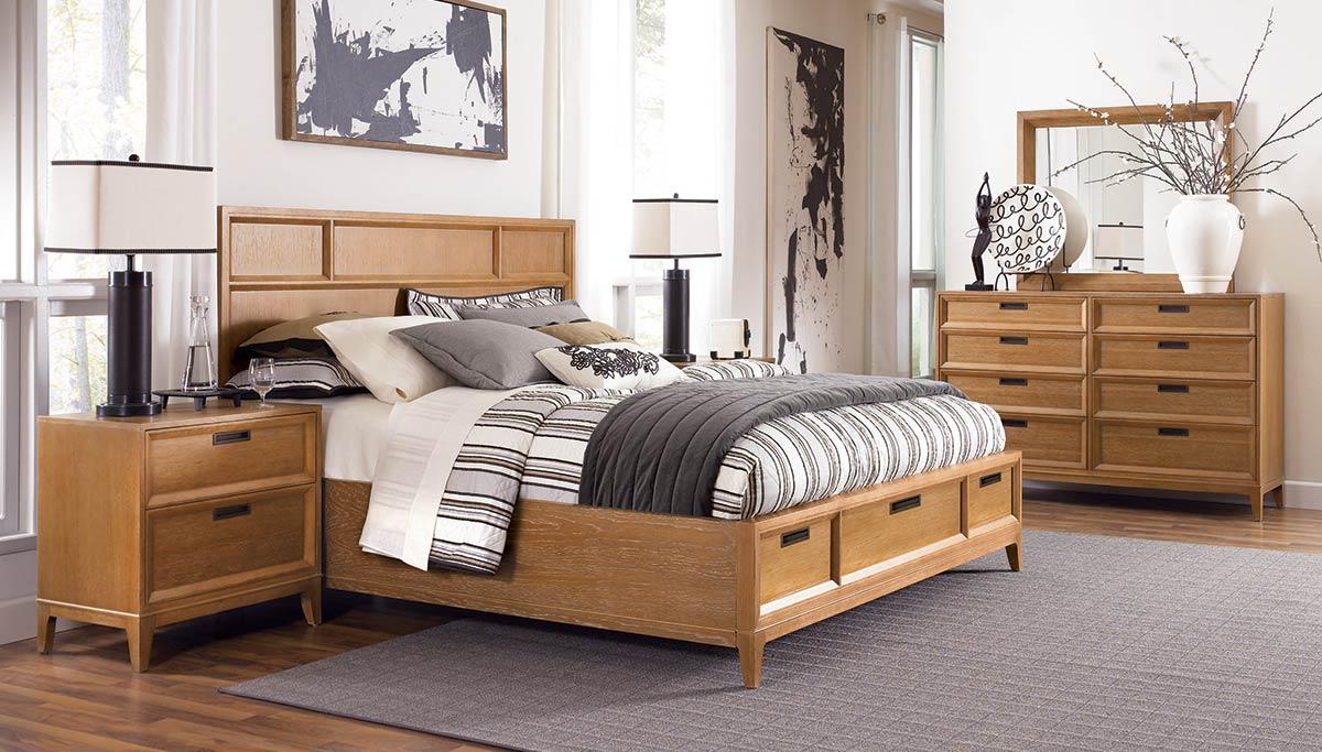 american drew sedona storage panel bedroom set