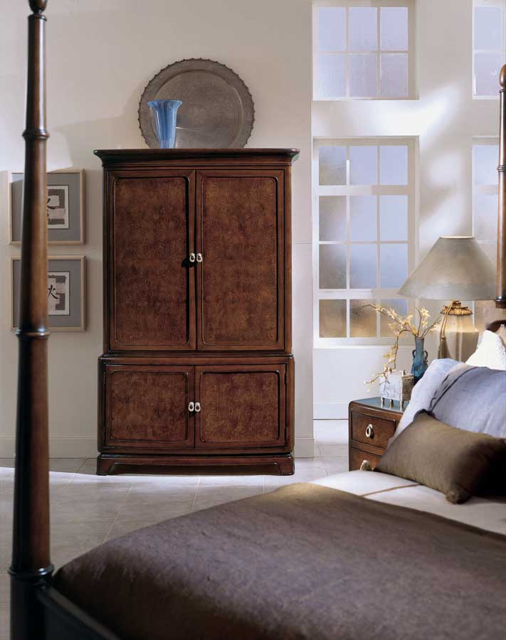 American Drew Tansu Platform Bedroom Collection B161 304R at