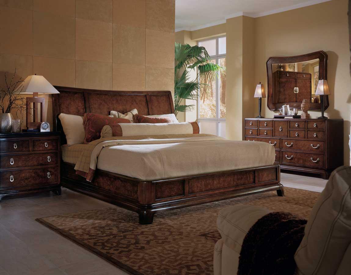American Drew Tansu Platform Bedroom Collection