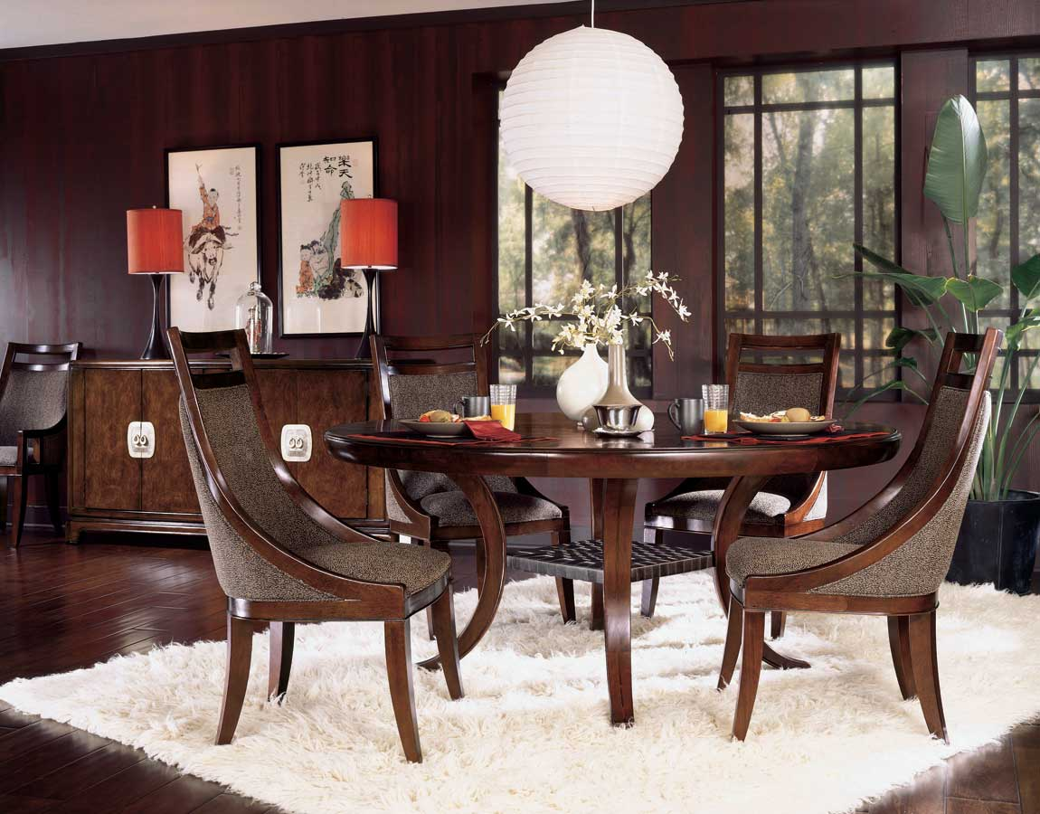 American Drew Tansu Party Table Dining Collection