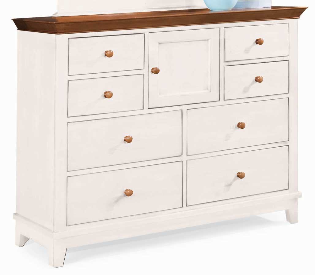 American Drew Sterling Pointe Dressing Chest White Cherry