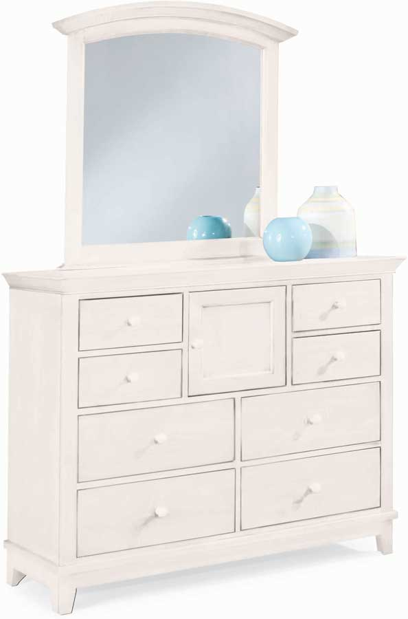 American Drew Sterling Pointe Dressing Chest White