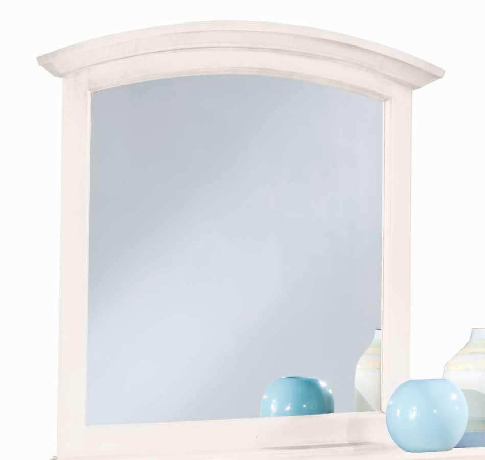 American Drew Sterling Pointe Vertical Mirror White