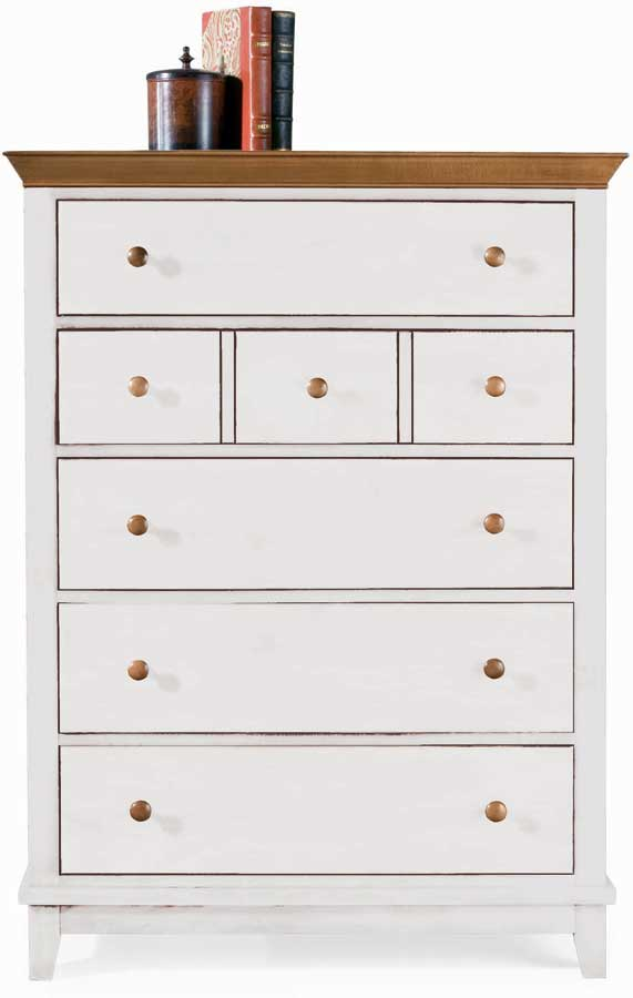 American Drew Sterling Pointe Drawer Chest White Maple