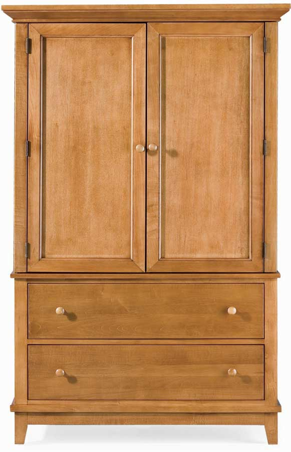 American Drew Sterling Pointe Door Chest Maple