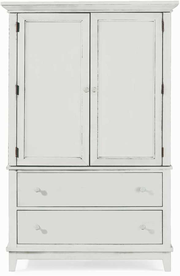 American Drew Sterling Pointe Door Chest White