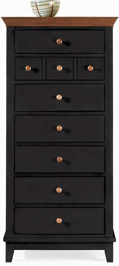 American Drew Sterling Pointe Lingerie Chest Black Cherry