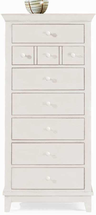 American Drew Sterling Pointe Lingerie Chest White