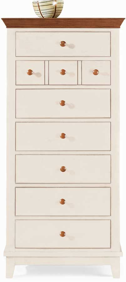 American Drew Sterling Pointe Lingerie Chest White Cherry