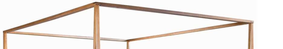 American Drew Sterling Pointe Canopy Frame Maple