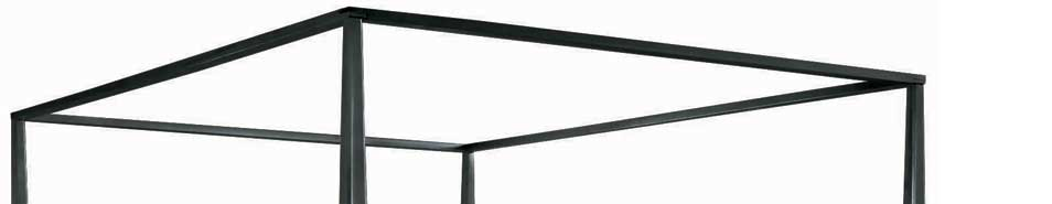 American Drew Sterling Pointe Canopy Frame Black