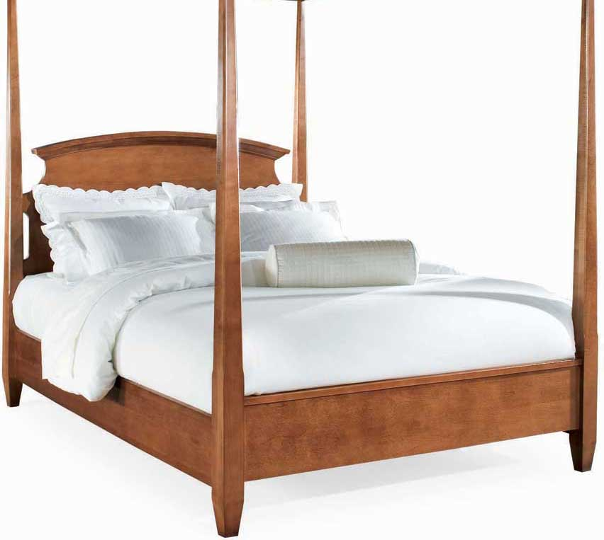 American Drew Sterling Pointe Poster Bed Cherry