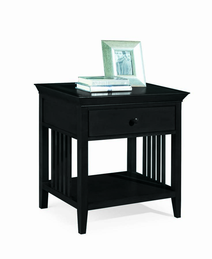 American Drew Sterling Pointe Drawer Night Stand Black