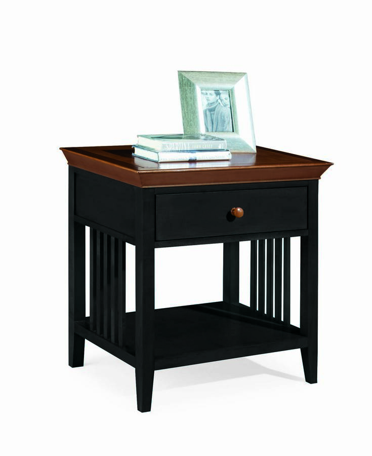 American Drew Sterling Pointe Drawer Night Stand Black Cherry