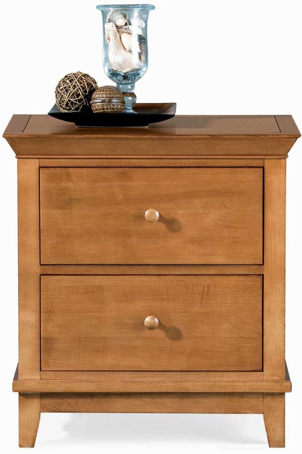 American Drew Sterling Pointe 2 Drawer Night Stand Maple