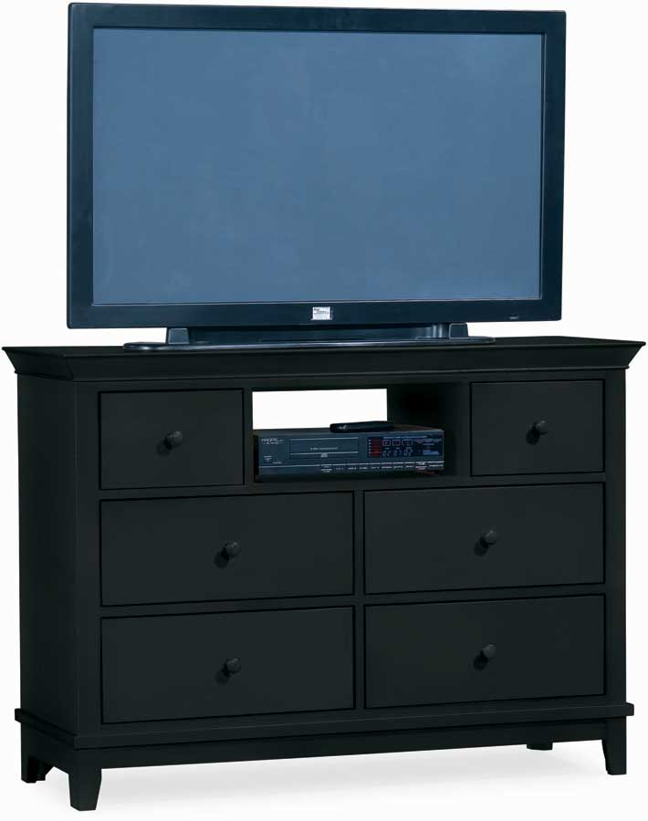 American Drew Sterling Pointe Entertainment Center Black