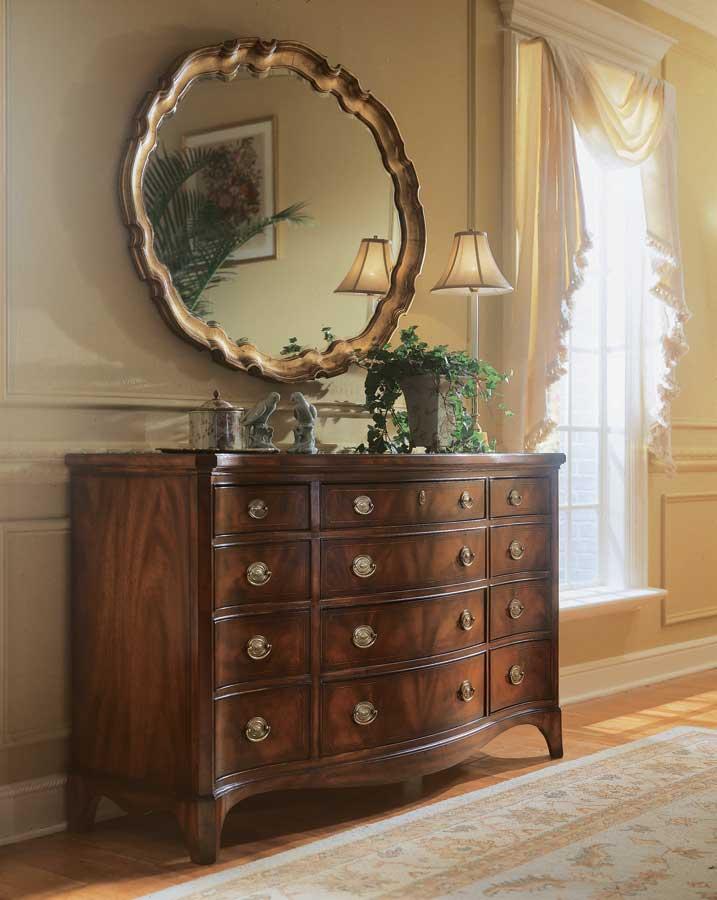 American Drew Edinboro Oval Mirror