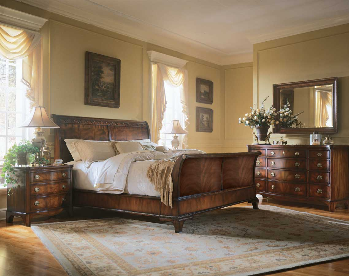 American Drew Edinboro Sleigh Bedroom Collection
