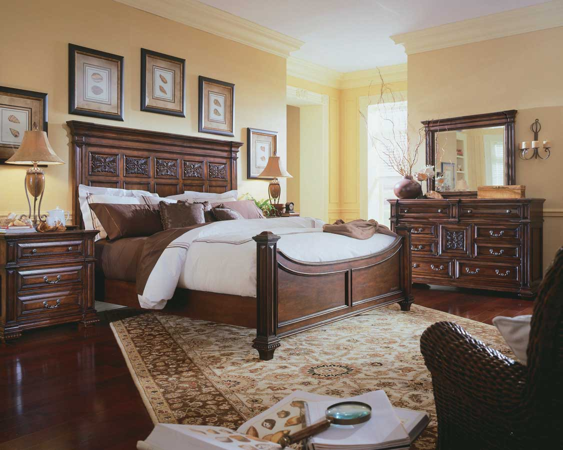 American Drew Marbella Mansion Bedroom Collection