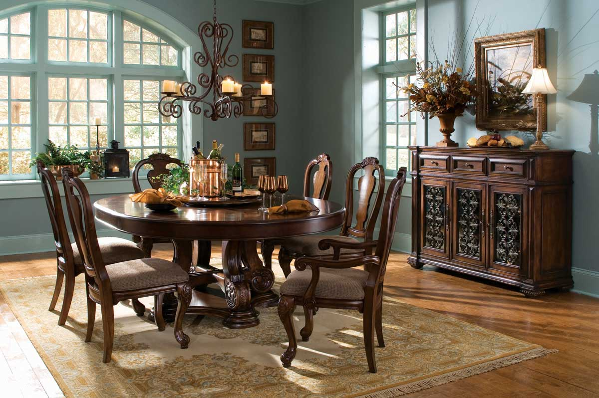 American Drew Marbella Round Dining Collection