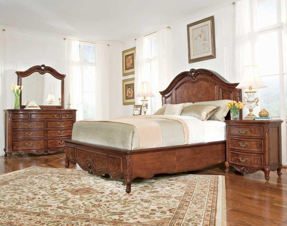 American Drew Bordeaux Mansion Platform Bedroom Collection
