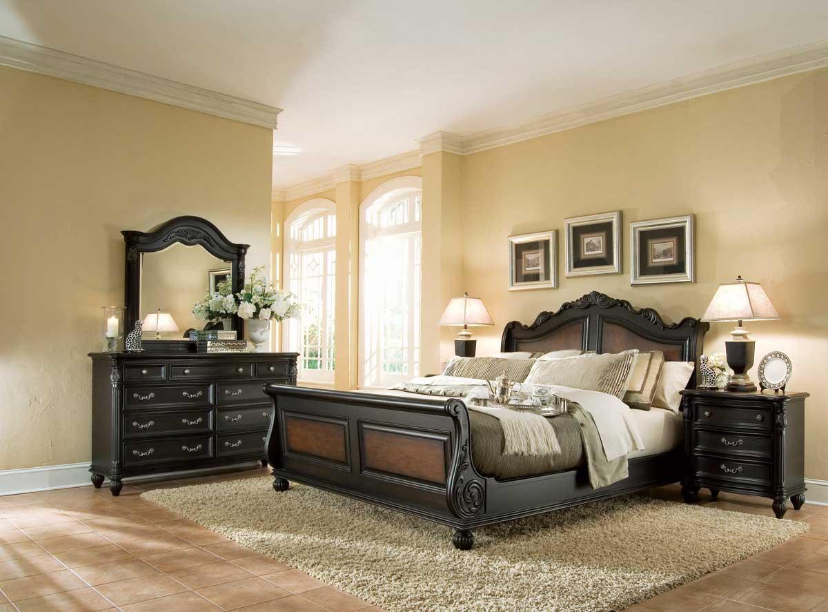 American Drew Versailles Sleigh Bedroom Collection