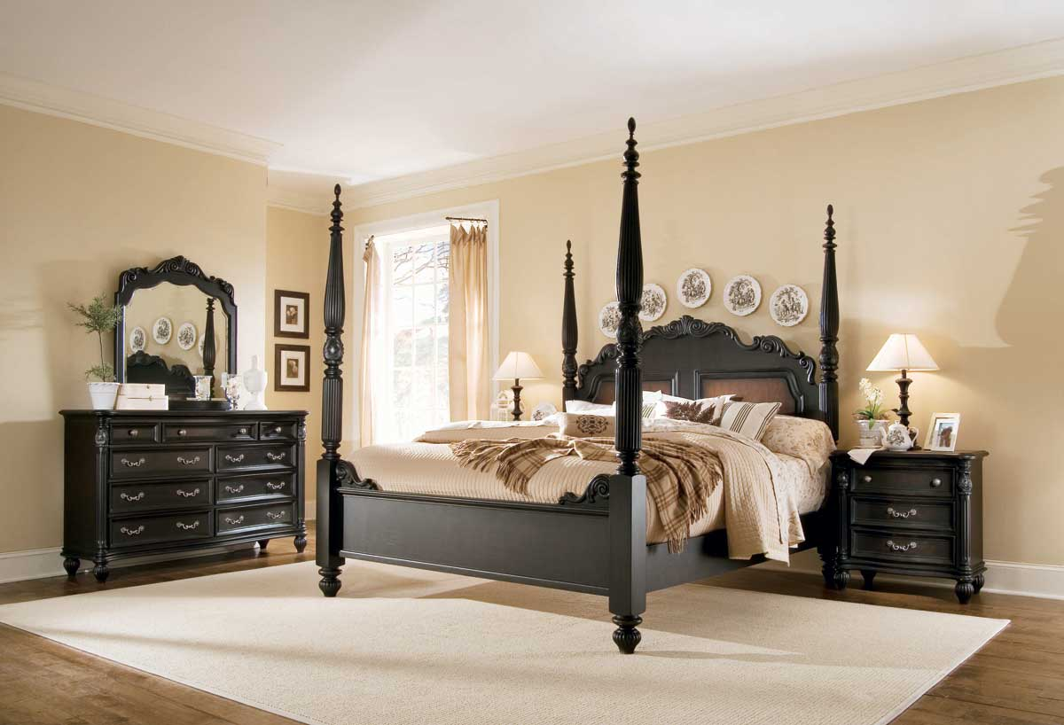 American Drew Versailles Poster Bedroom Collection B381