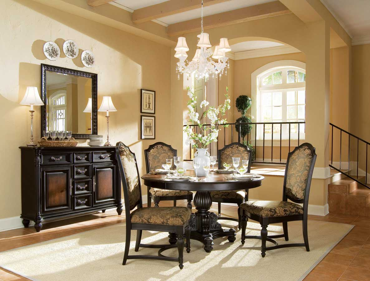 American Drew Versailles Round Dining Collection