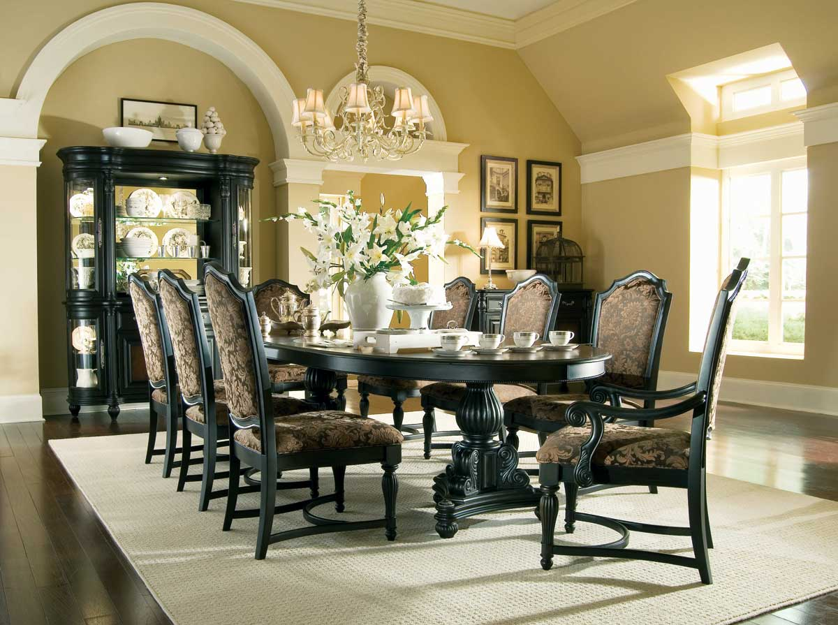 American Drew Versailles Trestle Dining Collection
