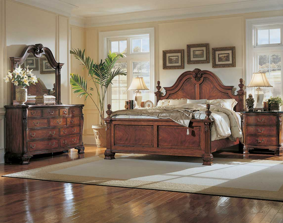 American Drew Wentworth Manor Mansion Bedroom Collection