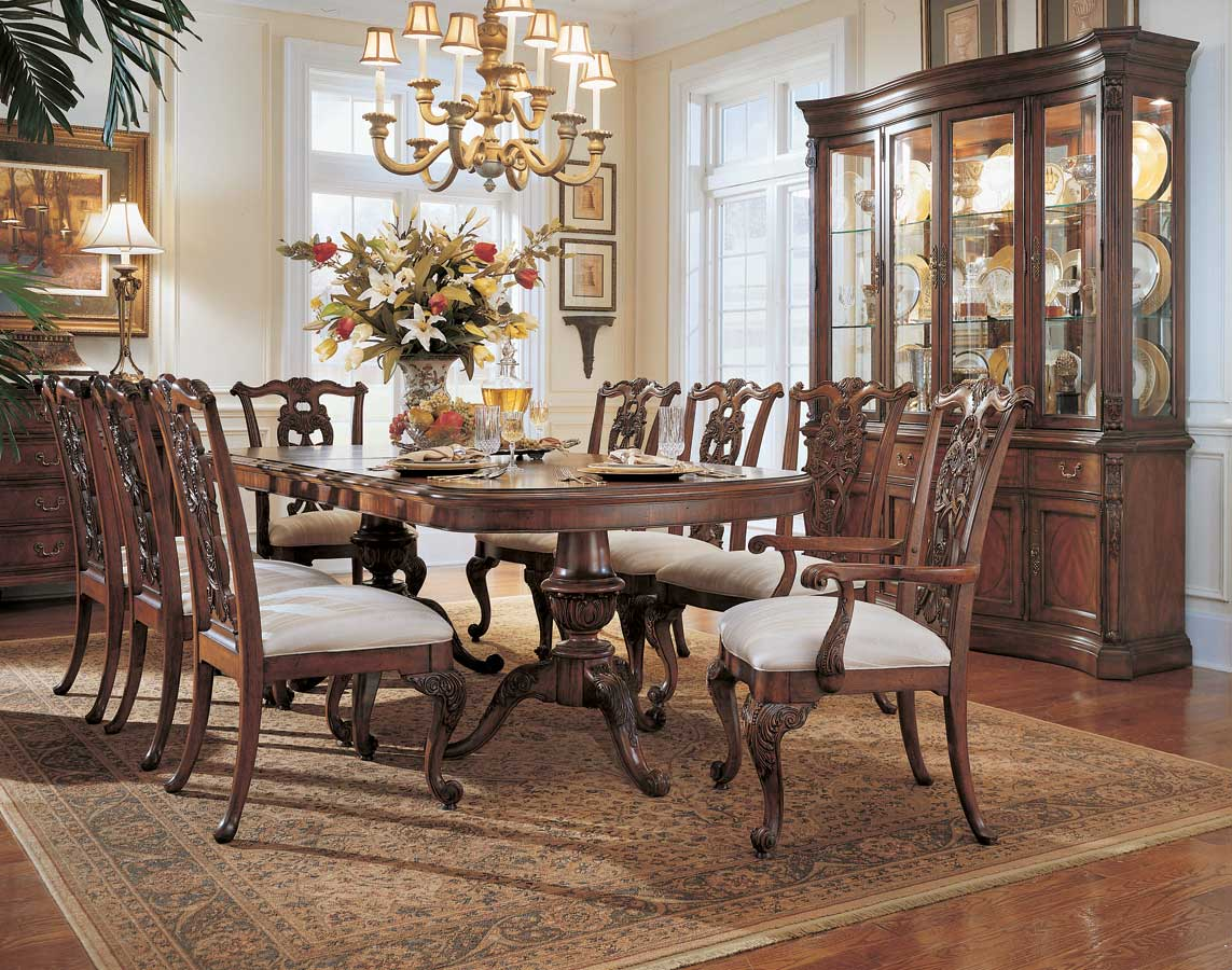 American Drew Wentworth Manor Pedestal Dining Collection