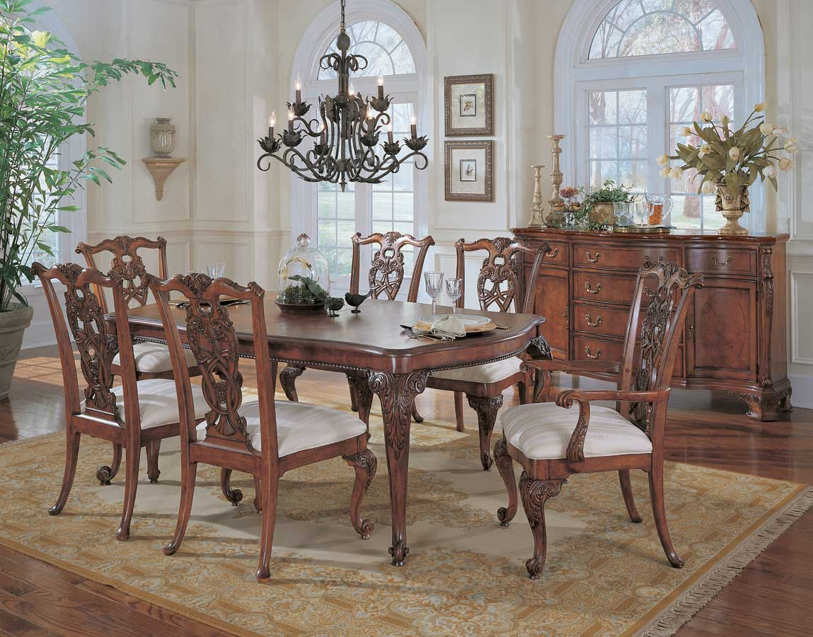American Drew Wentworth Manor Leg Dining Collection