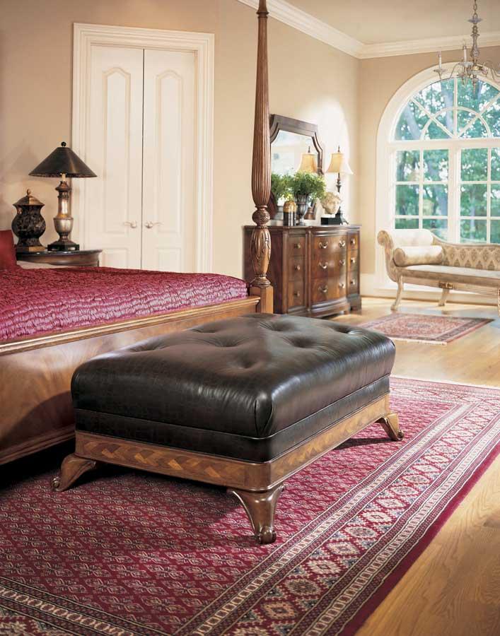 American Drew Bob Mackie Home Classics Sleigh Leather