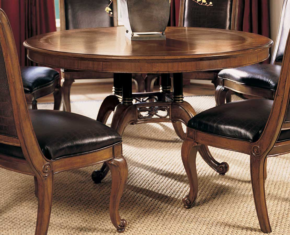 American Drew Bob Mackie Home Classics 60 Inches Round Dining Table