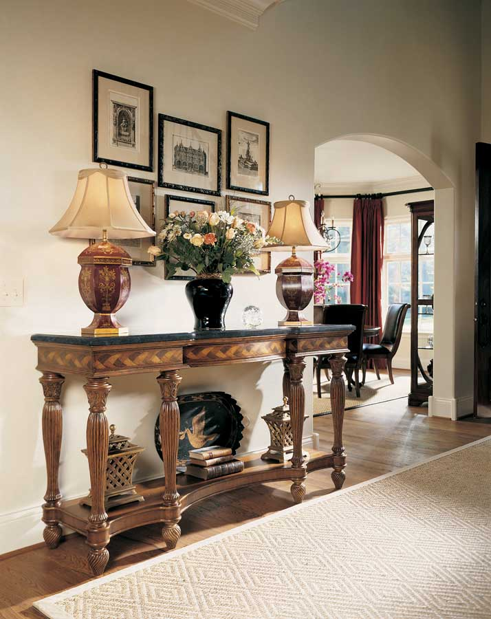 American Drew Bob Mackie Home Classics Hall Console Table