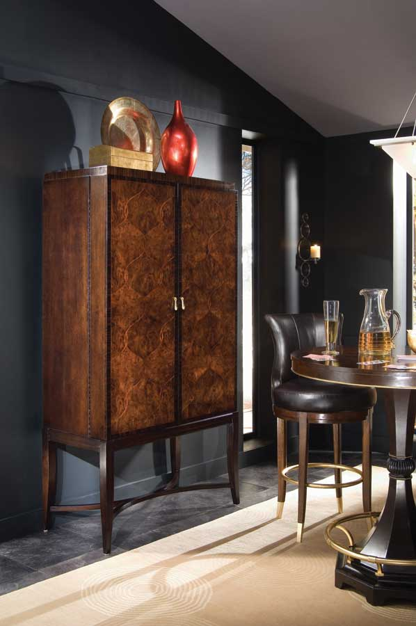 American Drew Bob Mackie Home Signature Bar Cabinet