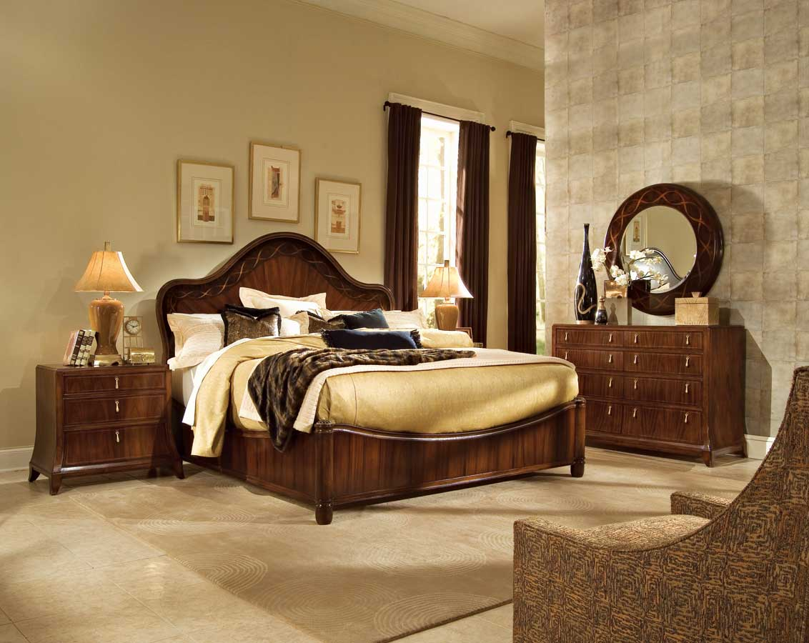 American drew bob mackie home signature panel bedroom collection b591 333r American home furniture bedroom sets
