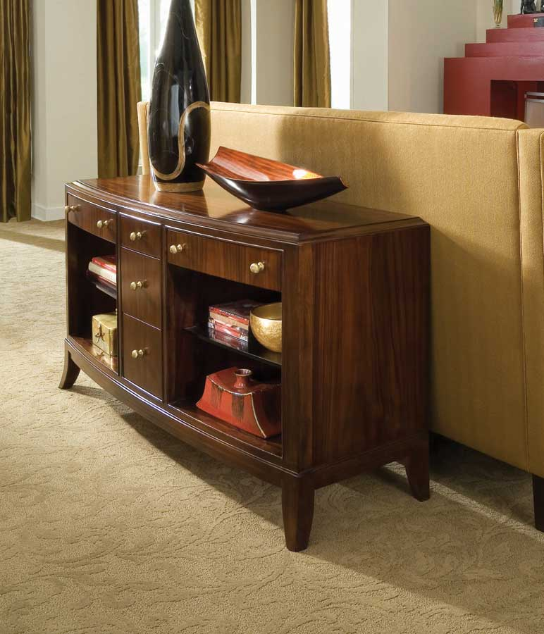 American Drew Bob Mackie Home Signature Sofa Table 591 925 At