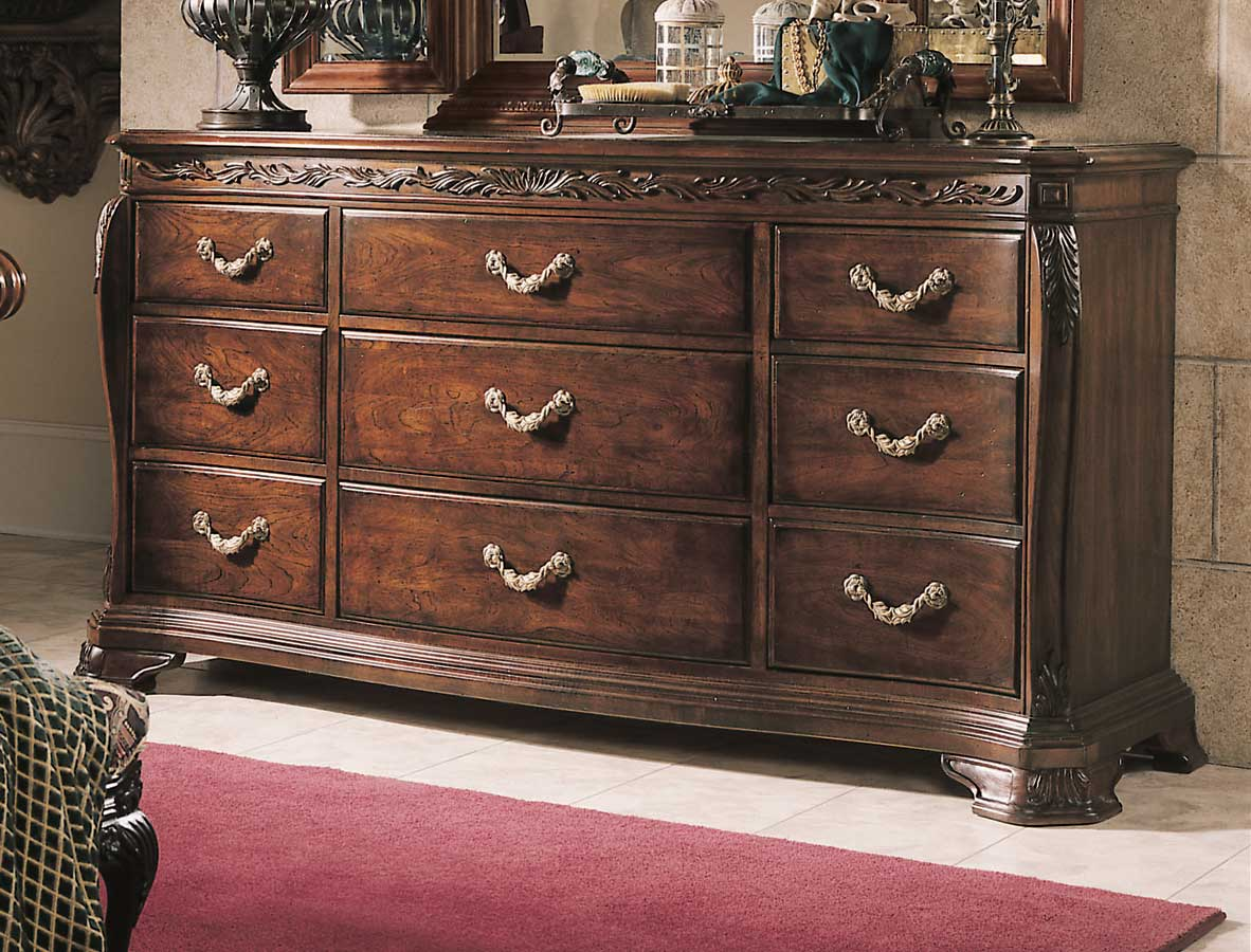 American Drew Bob Mackie Home Drawer Triple Dresser